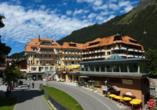 Hotel Silberhorn Wengen, Außenansicht Hotel