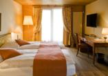 Hotel Silberhorn Wengen, Beispiel Doppelzimmer
