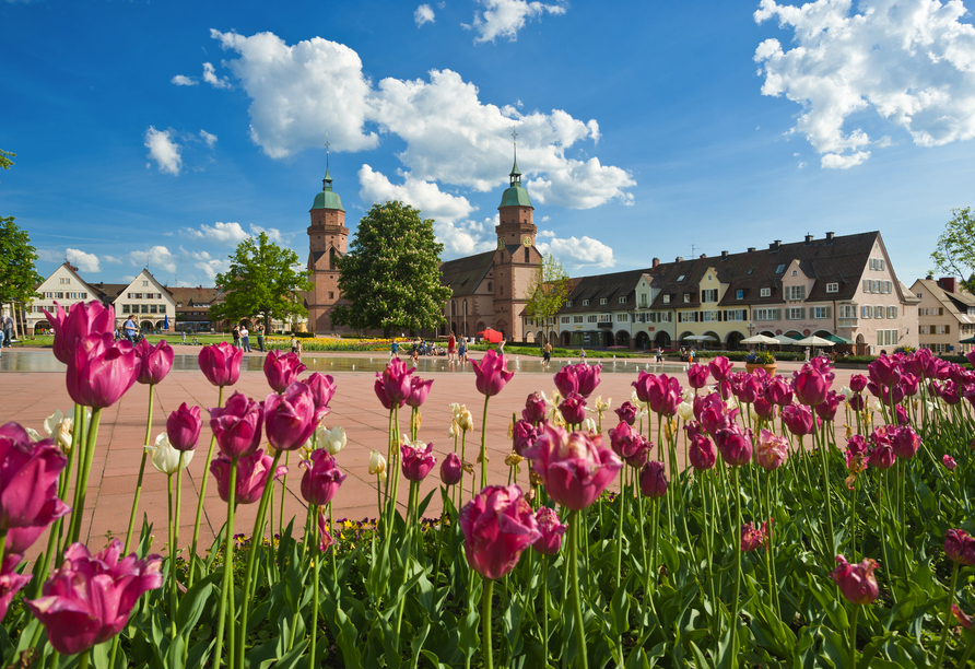 Ein Ausflug nach Freudenstadt bietet sich an.