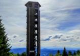 Besonders eindrucksvoll ist der Ausblick vom Buchkopfturm Oppenau.