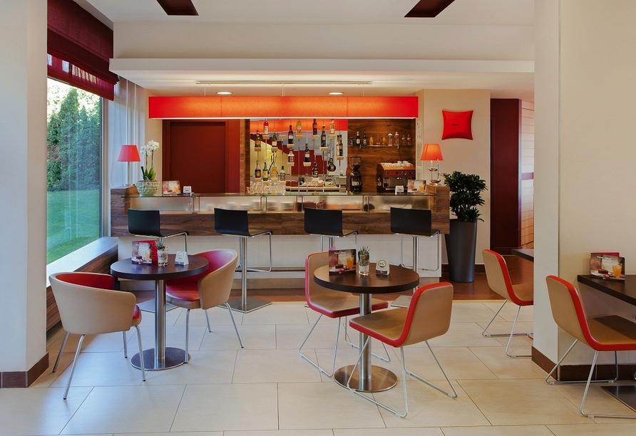 Bar in Ihrem Beispielhotel IBIS Budapest Citysouth