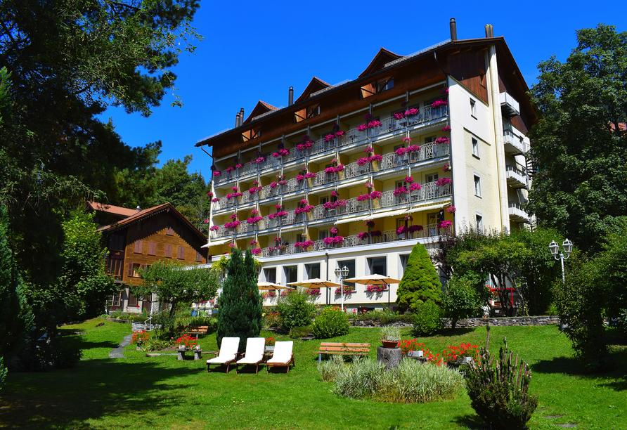 Wengener Hof, Außenansicht Hotel