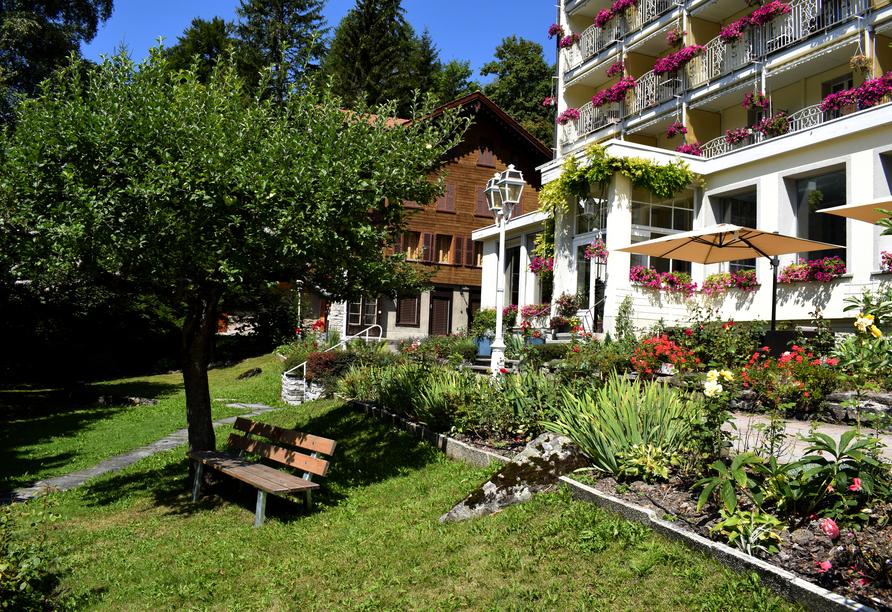Wengener Hof, Garten des Hotels