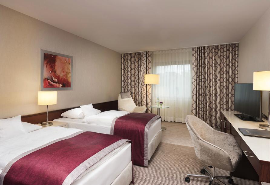 Beispiel eines Doppelzimmers im Maritim Hotel Bonn