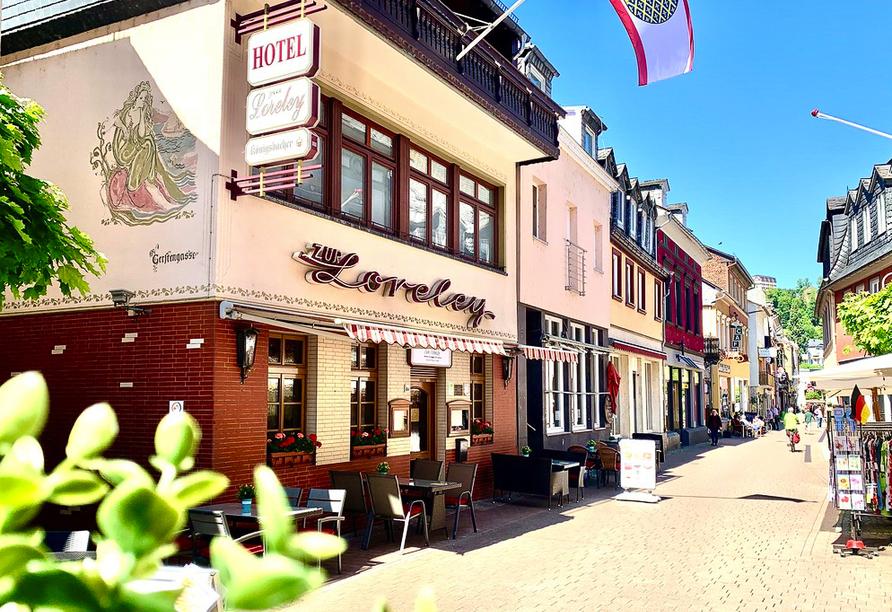 Hotel & Restaurant zur Loreley, Außenansicht