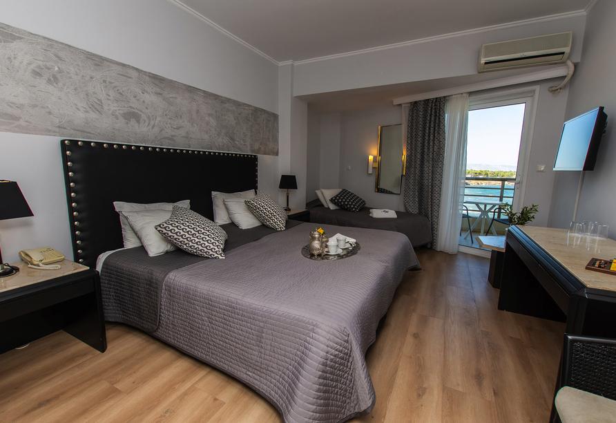 Beispiel eines Doppelzimmers im Hotel Mati