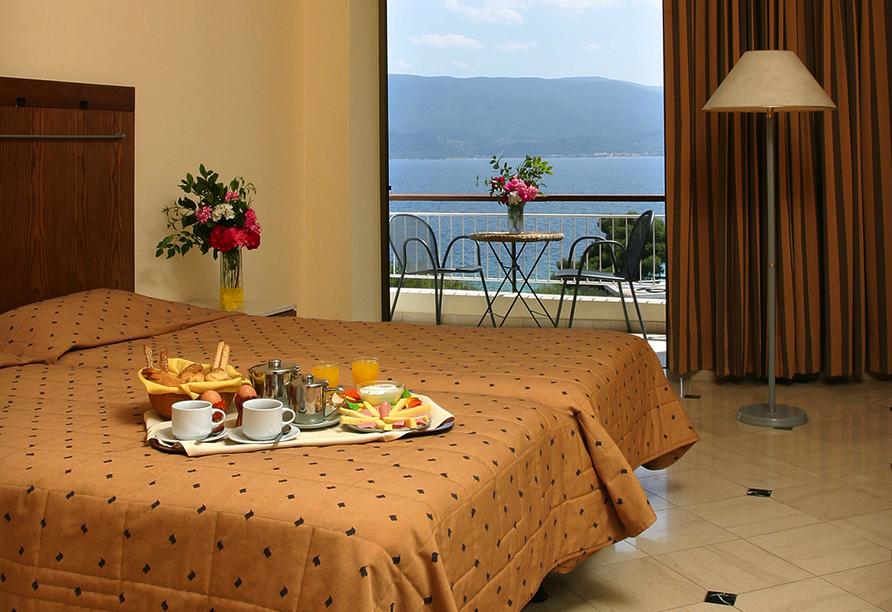 Beispiel eines Doppelzimmers im Hotel Kalamaki Beach