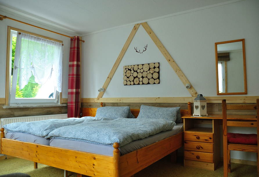 Wald-Landhaus in Goslar-Hahnenklee, Beispiel Doppelzimmer
