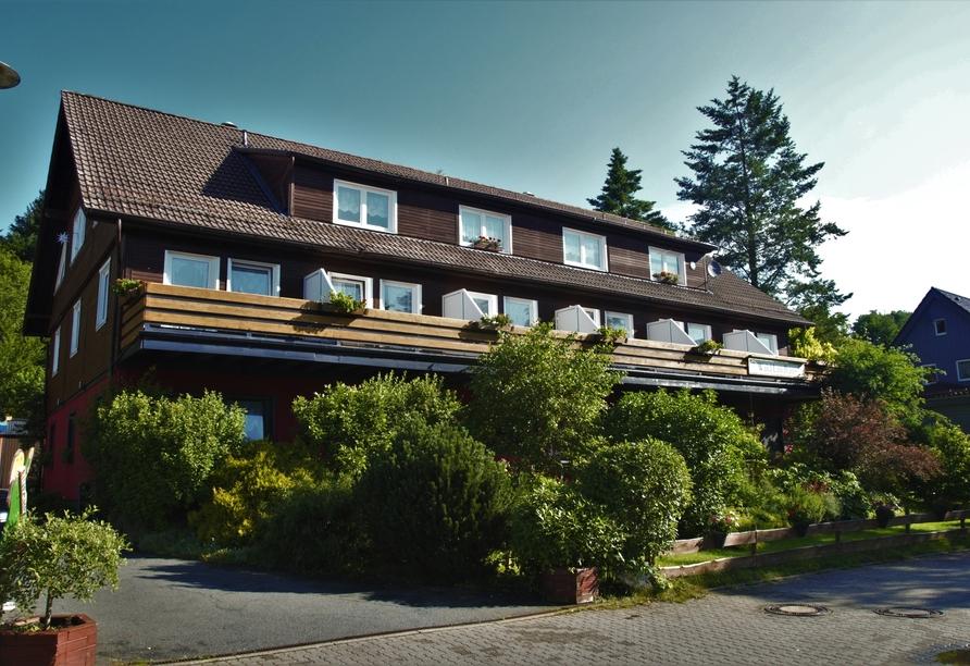 Wald-Landhaus in Goslar-Hahnenklee, Außenansicht Hotel