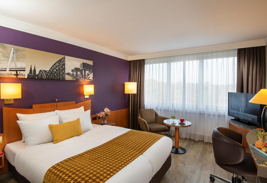 Ihr Doppelzimmer Komfort bietet Ihnen einen Ort der Entspannung an.
