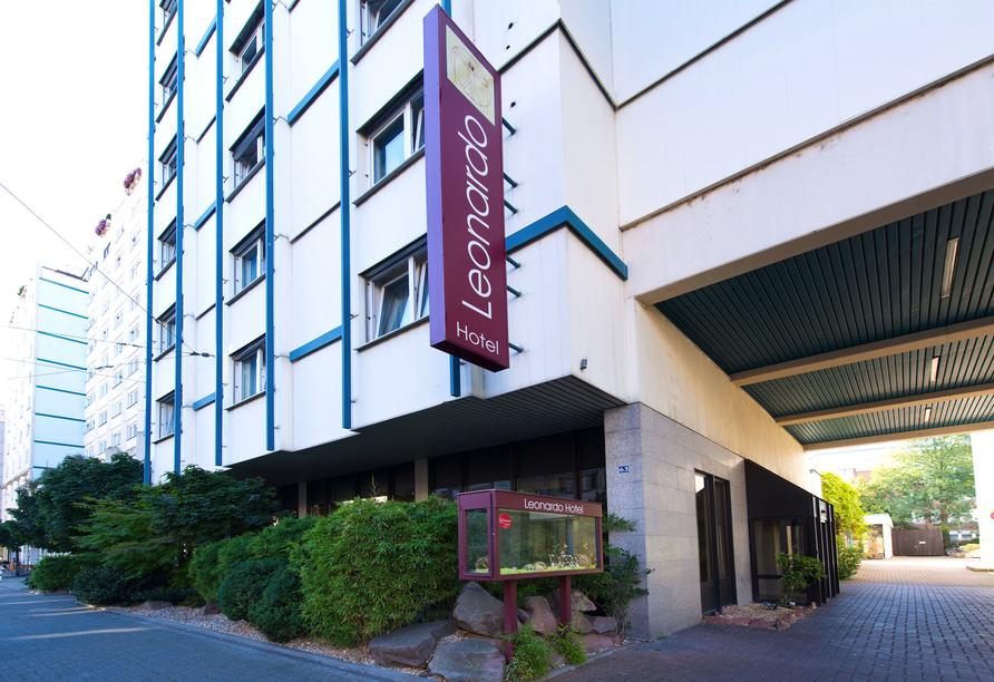 Das Leonardo Hotel Heidelberg City Center freut sich auf Ihren Aufenthalt.