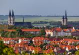 Der Blick auf Halberstadt lässt Ihr Herz höher schlagen.