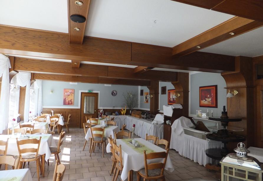 Ihr Ferienhotel Forelle erwartet Sie mit einem Restaurant.