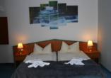 Beispiel eines Doppelzimmers im Ferienhotel Forelle.