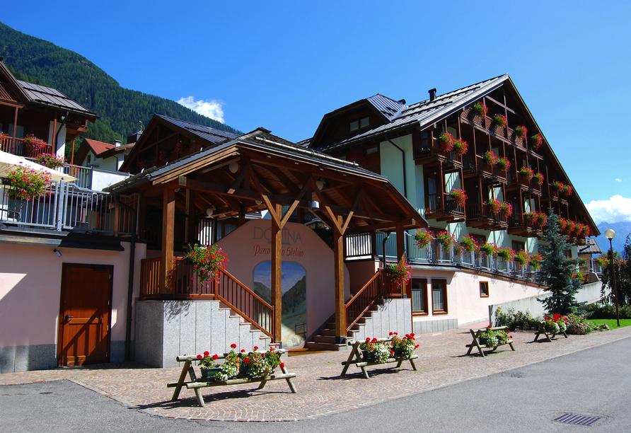 Hotel Parco dello Stelvio, Außenansicht