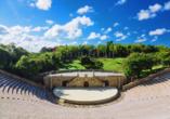 Das Amphitheater in Altos war schon Schauplatz für einige große Künstler.