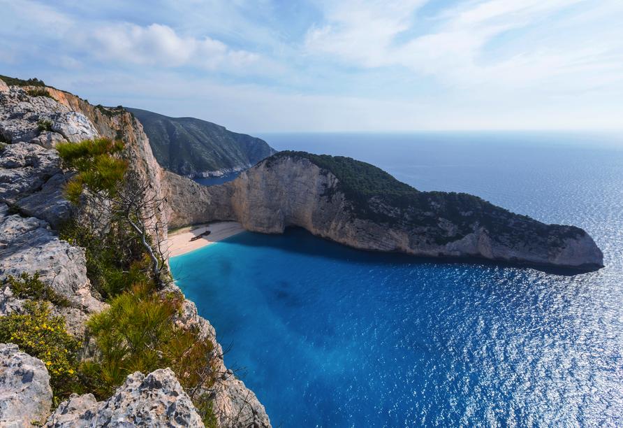 Blaue Reise rund um die Ionischen Inseln, Zakynthos