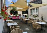 Baum´s Rheinhotel, Terrasse