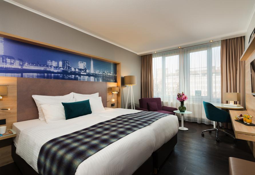 Leonardo Royal Hotel Düsseldorf Königsallee, Beispiel Doppelzimmer