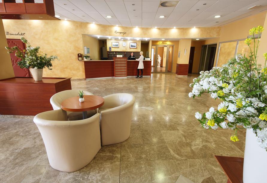 Hotel Salinera Resort, Slowenien, Lobby