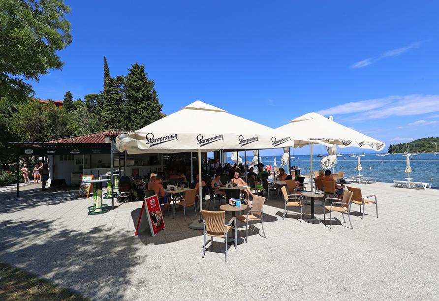 Hotel Salinera Resort, Slowenien, Strandbar