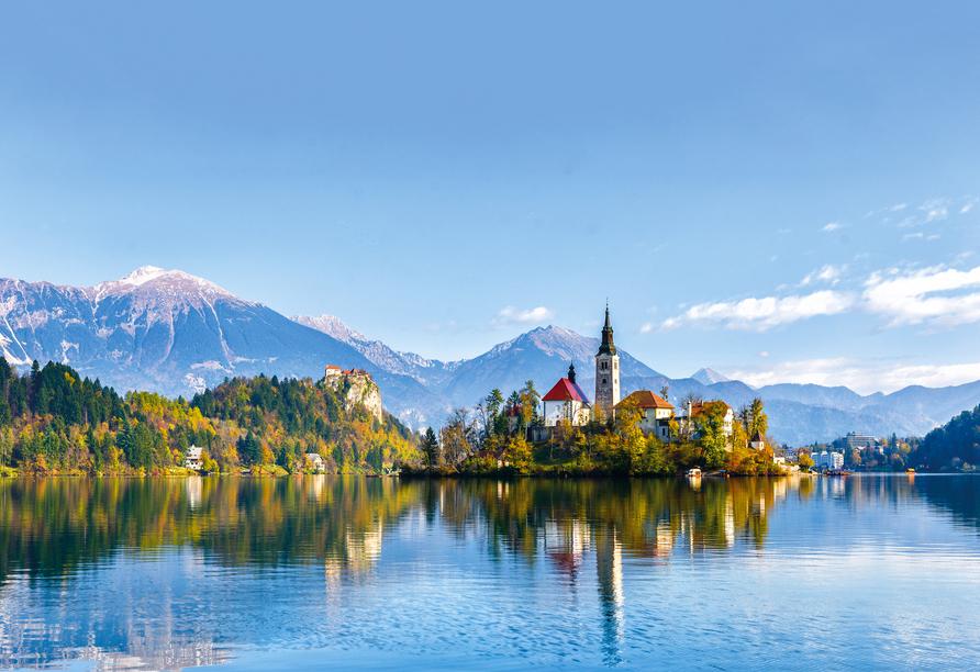 Hotel Salinera Resort, Slowenien, Bled See