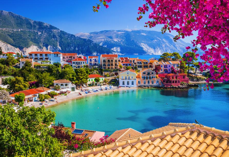 Blaue Reise rund um die Ionischen Inseln, Assos in Kefalonia