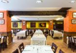Restaurant im Hotel Himàlaia Soldeu in Andorra