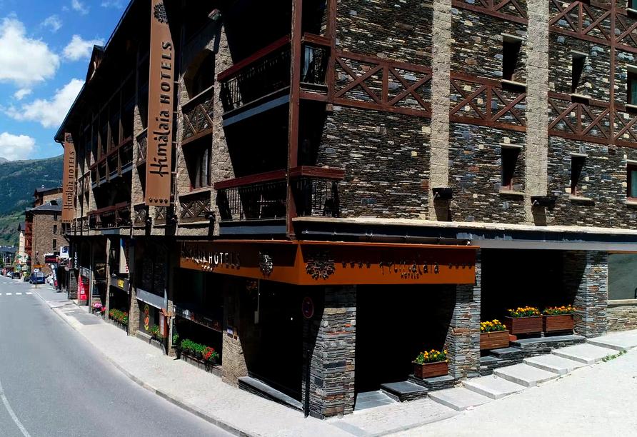 Außenansicht Ihres Hotels Himàlaia Soldeu in Andorra
