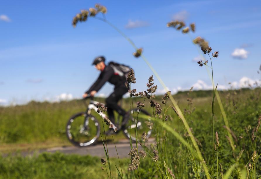 Waldhotel Soodener Hof, Fahrradfahren