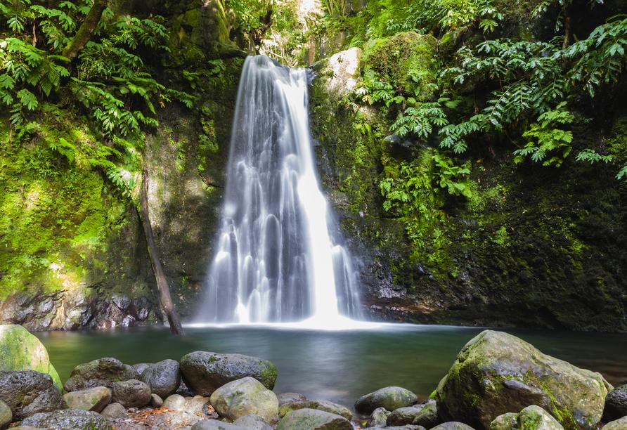 MS VASCO DA GAMA, Wasserfall