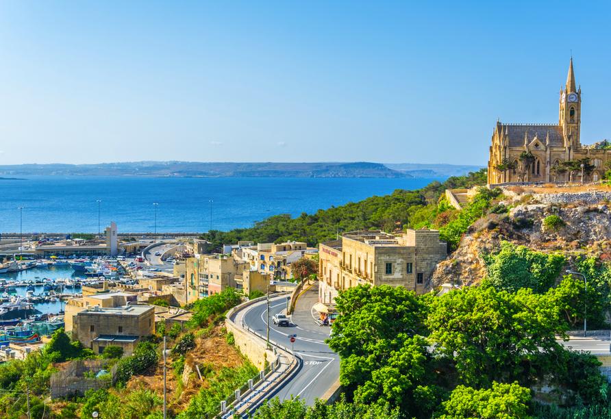 Die spannende Inselgruppe Malta entdecken, Kirche in Mgarr, Gozo