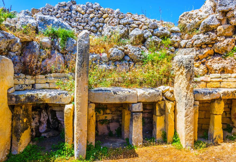 Die spannende Inselgruppe Malta entdecken, Tempel Ggantija