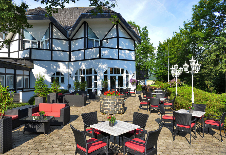 Hotel Gut Funkenhof, Sonnenterrasse