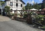 Hotel-Restaurant Forellenzucht, Biergarten