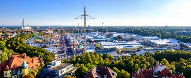 Das Oktoberfest ist das größte Volksfest der Welt.