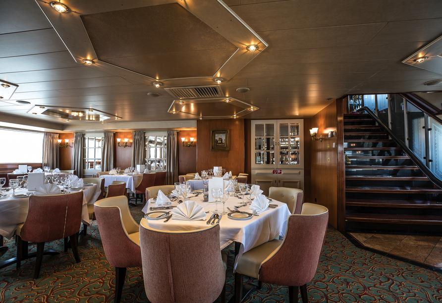 MS Swiss Crystal, Restaurant