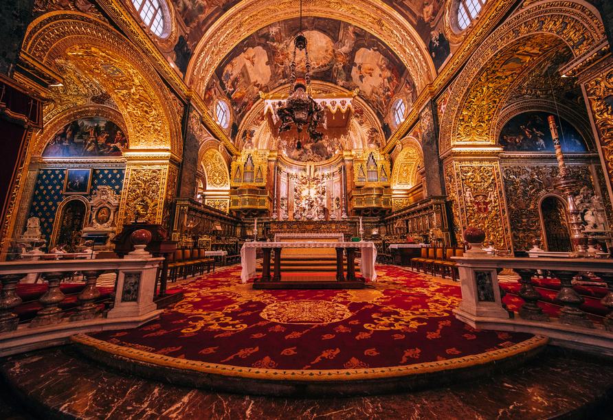 Die spannenden Inseln Malta und Gozo entdecken, St. John's Co-Kathedrale Valletta