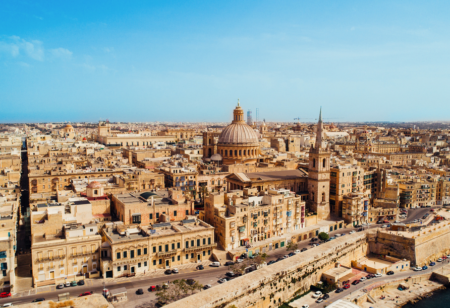 Die spannenden Inseln Malta und Gozo entdecken, Valletta