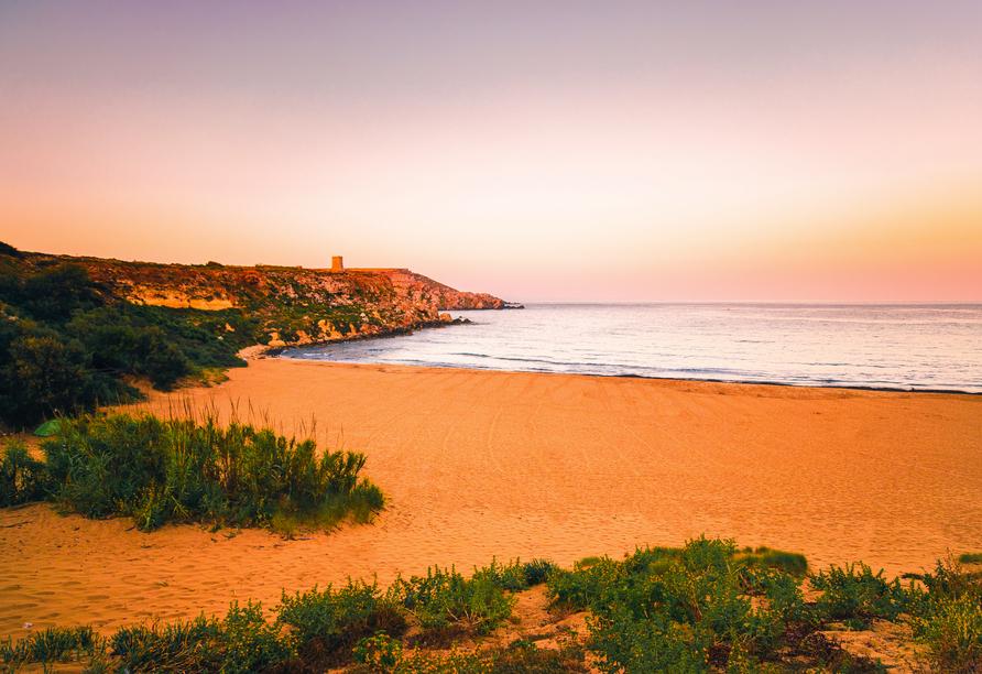 Die spannenden Inseln Malta und Gozo entdecken, Ramla Bay Gozo