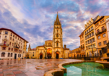 Oviedo ist eines der historischen Glanzstücke Spaniens.