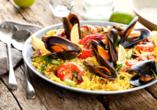 Ein traditionelles Abendessen in einem Pintxos-Restaurant ist ebenfalls für Sie inkludiert.