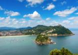 San Sebastián ist für seine Strände und die urige Altstadt bekannt.