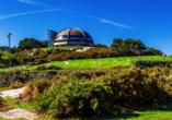 Der Monte San Pedro mit seinem Park ist ein Ort der Ruhe.