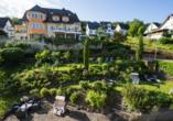 Hotel Pistono in Dieblich an der Mosel, Garten