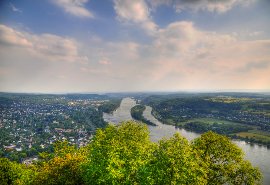 Radrundreise Rheinradweg, Bad Honnef