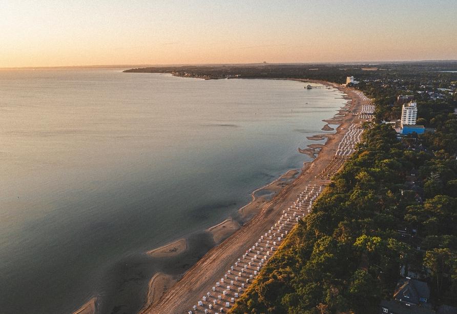 PLAZA Premium Timmendorfer Strand, Außenansicht