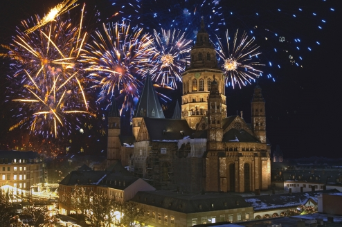 MS Crucedream, Silvester in Mainz