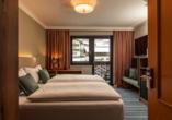 Beispiel eines Doppelzimmers Classic im Hotel Erzherzog Johann