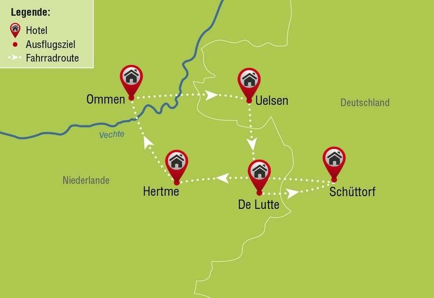 """Radrundreise """"Grüne Grenzregion"""